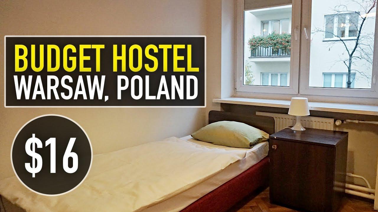 Back To Hostel Life Cheap 16 Hostel In Warsaw Poland Hostel Helvetia Youtube