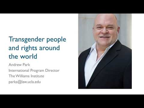 Webinar: Public Opinion on Transgender People and Rights in 27 Countries