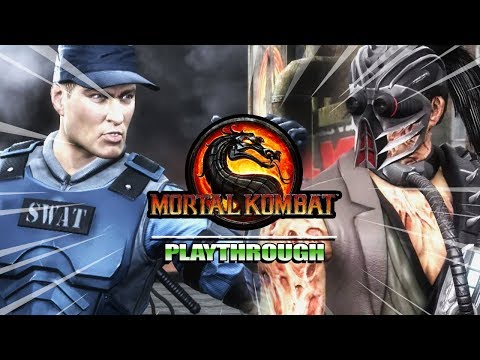 STRIKER - BADASS - KABAL - BUSTED : Story Mode - Mortal Kombat 9 (Part 8) thumbnail