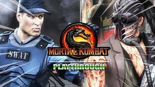 STRIKER - BADASS - KABAL - BUSTED : Story Mode - Mortal Kombat 9 (Part 8)
