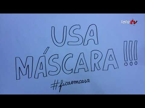 """GAAF organizou concurso de vídeo: """"Nós usamos máscara."""""""
