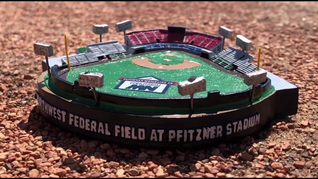 Northwest Federal Field at Pfitzner Stadium Replica Giveaway