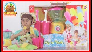 Mainan Anak My Ice Works - Ice Cream Pops Maker - Fruit Yogurt Ice Pops
