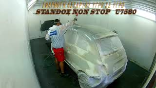 FIAT 500 REPAIR FROM HAILSTORM