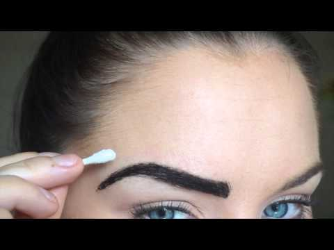 bcf20ebfe How to Eyebrow Tinting, Trimming, Grooming | HENNA - YouTube