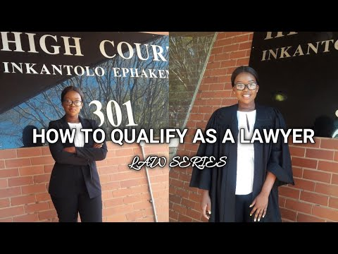 HOW TO BECOME A LAWYER 101 : PART 2 : SOUTH AFRICAN YOUTUBER