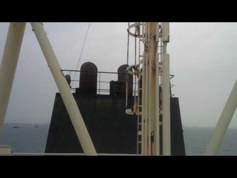 PanaMax Oil Tanker in Lagos waters