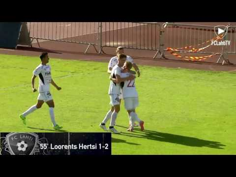 Karjala ottelukooste: JJK - FC Lahti 1-3 (1-0) 1.7.2017