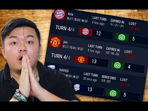MAKING THE HUGE COMEBACK AGAINST HIGH RATED TEAMS?? FIFA MOBILE IOS / ANDROID