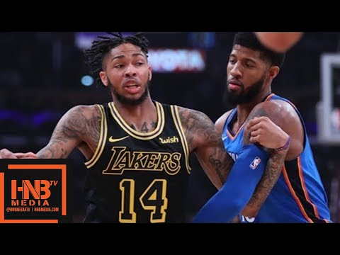 Oklahoma City Thunder vs Los Angeles Lakers Full Game Highlights / Feb 8 / 2017-18 NBA Season
