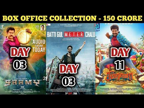 Box Office Collection Of Saamy Square,Batti Gul Meter Chalu & Seema Raja | Chiyaan Vikram | 23 Sep