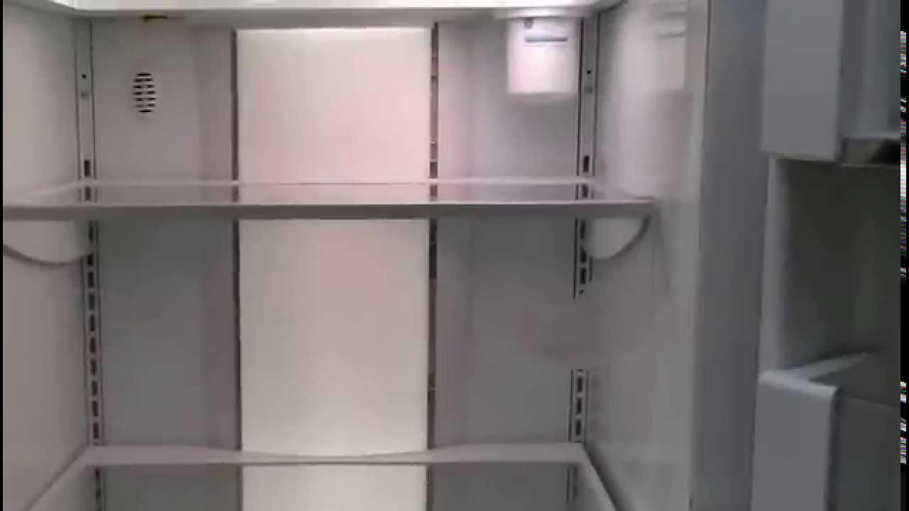 ge monogram refrigerator. GE Monogram Side-By-Side Refrigerator Demonstration Video Ge