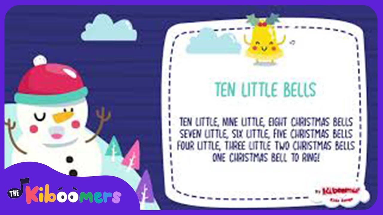 Ten Little Jingle Bells | Kids Christmas Song | The Kiboomers | Christmas Nursery Rhymes