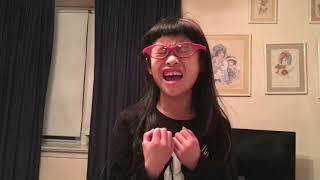 Kaitlyn singing Alicia Keys