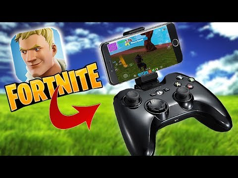 INCOMING CONTROLLER SUPPORT! *Fortnite mobile* SOLO MODE!!
