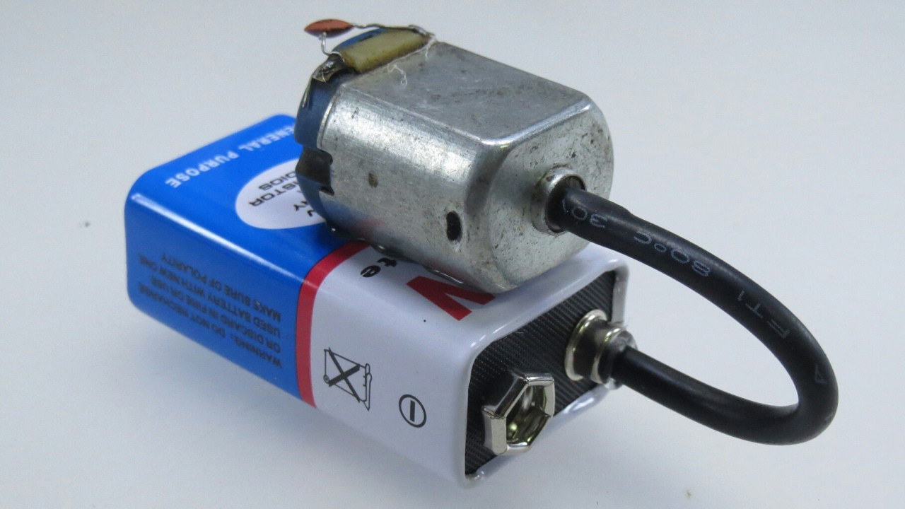 3 Useful Gadgets Using 9v Battery Dc Motor