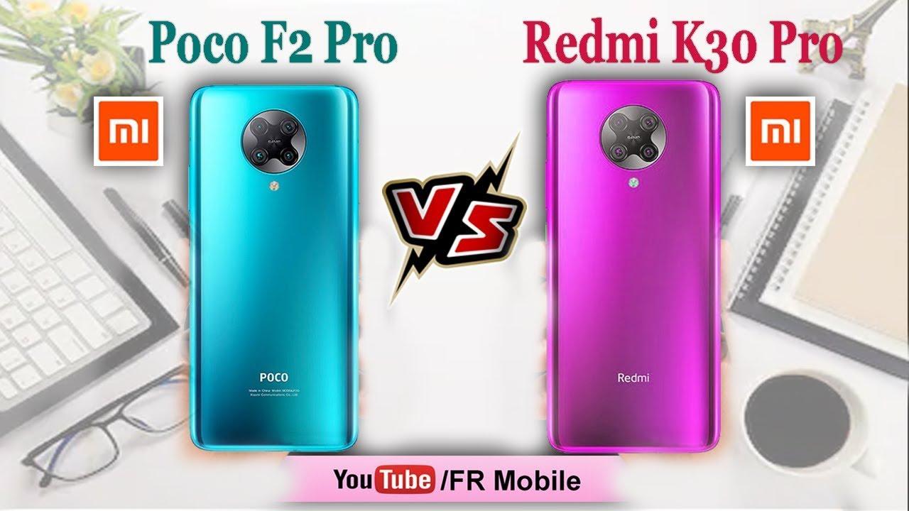 Poco F2 Pro vs Xiaomi Redmi K30 Pro: Camera, Performance, Battery, Price | FR Mobile