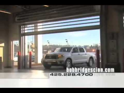 Rytec S Spiral Door As Featured In Bob Bridge Toyota Commercial