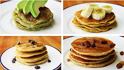 4 Simple And Healthy Pancakes - Homemade Pancakes