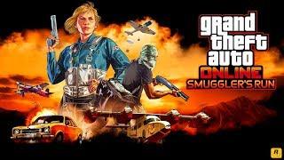 $75,000,000 GTA 5  SMUGGLER'S RUN DLC SPENDING SPREE - GTA 5 SMUGGLER'S RUN DLC GAMEPLAY (4K Stream)