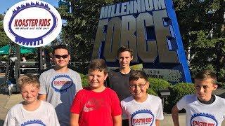 Last Cedar Point Trip of 2017 - Day 1- Maverick ERT