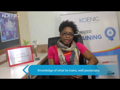 Student from UK attended- Oracle Database 12c: OCA DBA Certification at Koenig Solutions Ltd