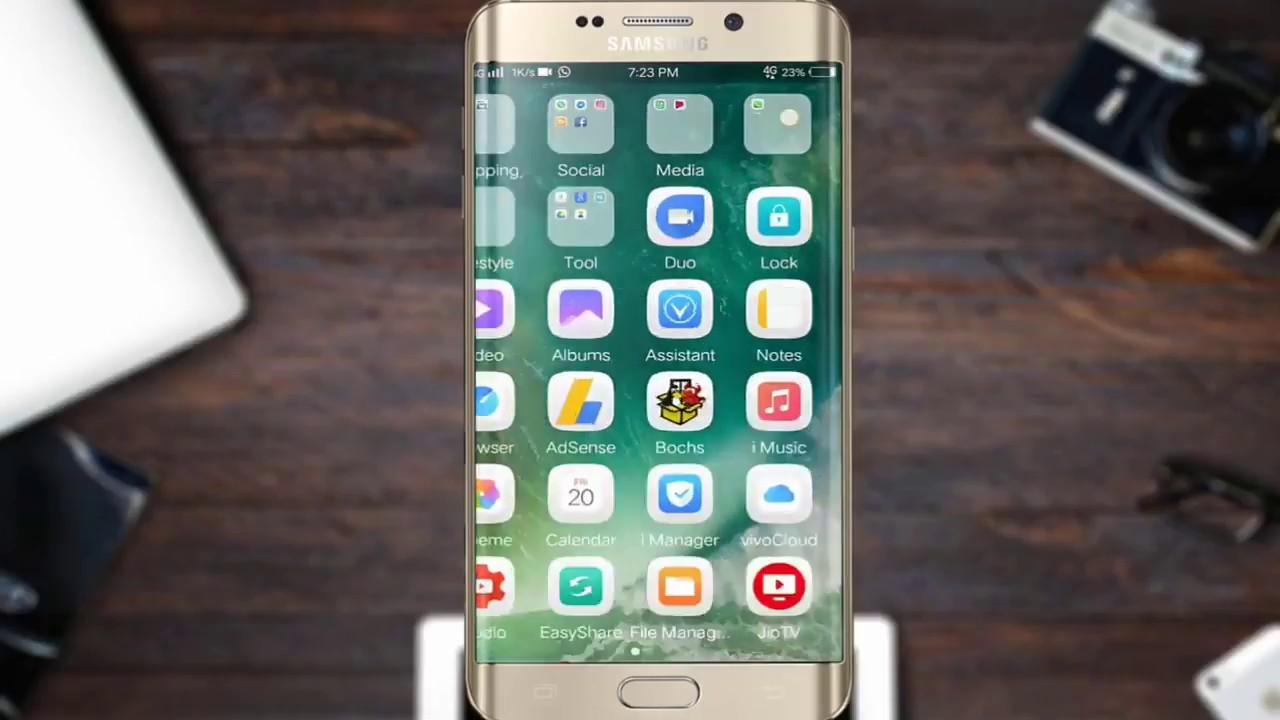 HOW TO INSTALL IOS ON Samsung galaxy S7 Edge IOS 10 ROM | how to Install  iOS 10 on Samsung S7 Edge