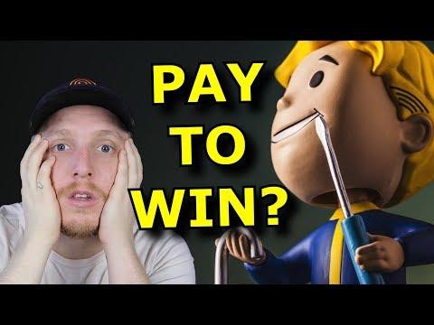 Bethesda Lies and makes Fallout 76 PAY TO WIN? thumbnail