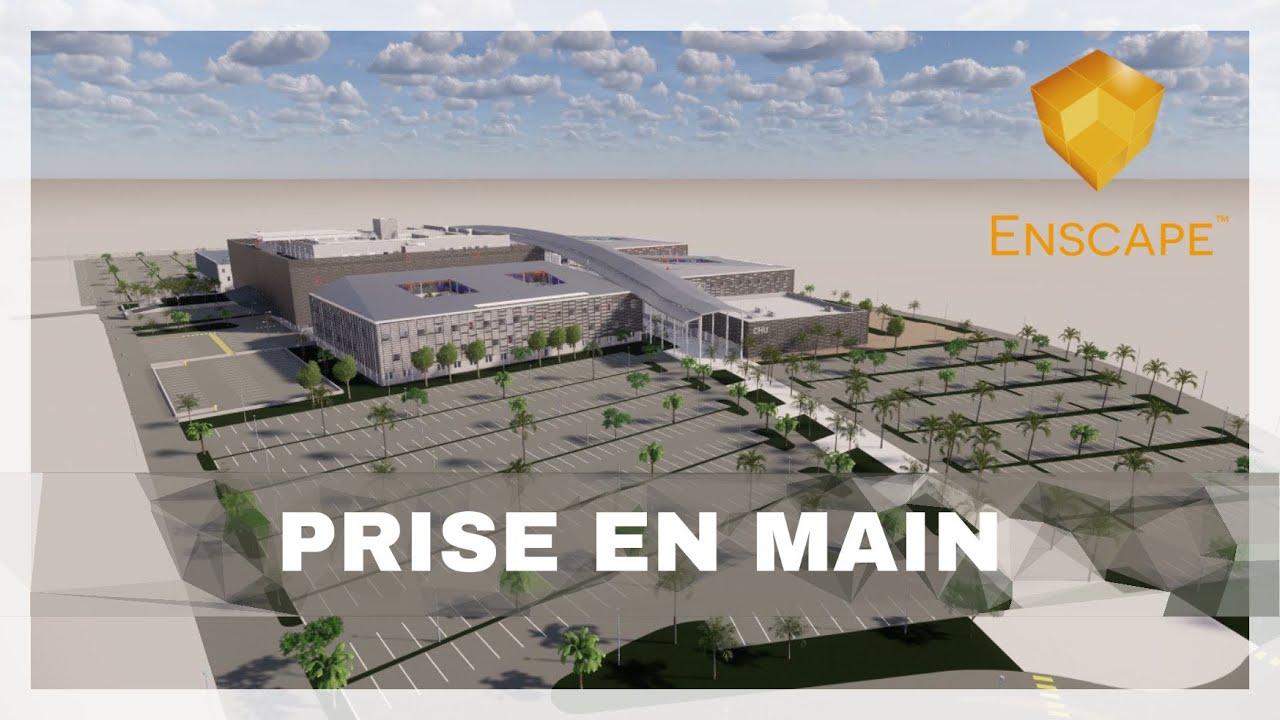 PRISE EN MAIN ENSCAPE - CHU Guadeloupe - Hôpital pointe à pitre