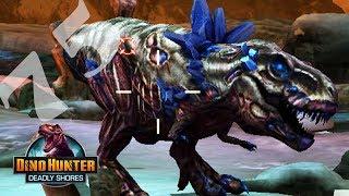 ТИРАННОЗАВР КРИСТАЛИЧЕСКИЙ МУТАНТДинозавров DINO HUNTER DEADLY SHORES 75
