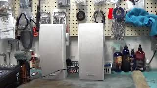 Bose 251 Speakers Demo