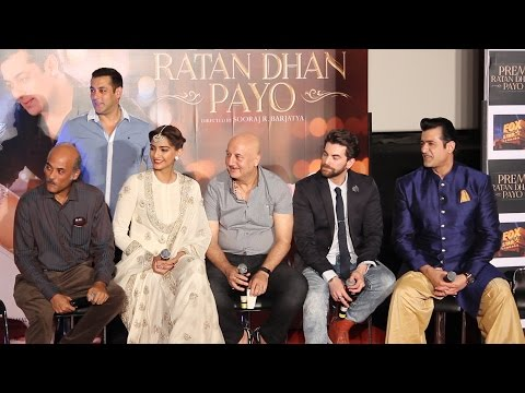 Question Answer Session | Salman Khan | Sonam Kapoor | Sooraj Barjatya |  Prem Ratan Dhan Payo