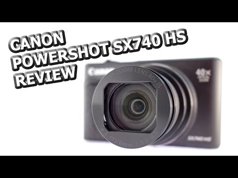 Canon PowerShot SX740 HS Handling Review & 13 Minutes of Full HD Samples