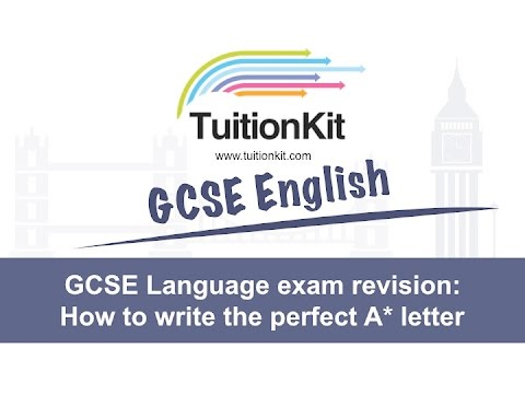 Gcse language exam revision how to write the perfect a letter gcse language exam revision how to write the perfect a letter the english teacher spiritdancerdesigns Image collections