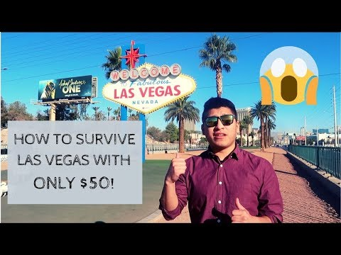 How To Travel Las Vegas CHEAP With ONLY $50
