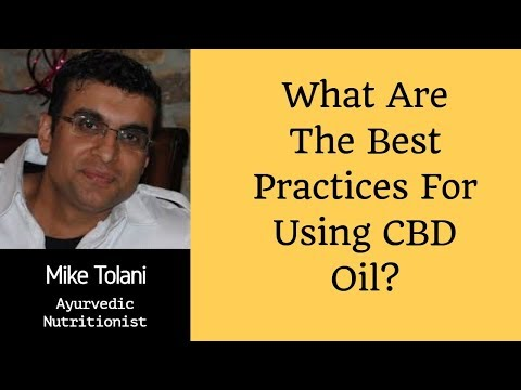 What Does CBD Oil Do For Anxiety? | How To Take CBD Oil Tincture | Nutritionist Mike Tolani Atlanta