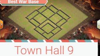 Th9 mega troll war base
