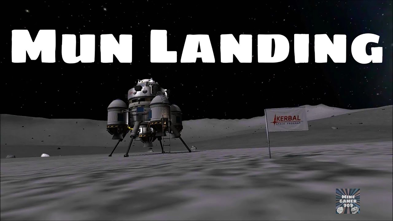 kerbal space program mun landing-#27