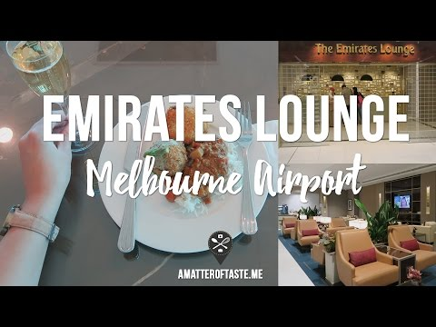 Emirates Business/First Class Lounge - Melbourne Airport