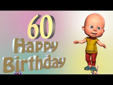 Lustiges Geburtstags Video Alter 60 Jahre Happy Birthday to you 60