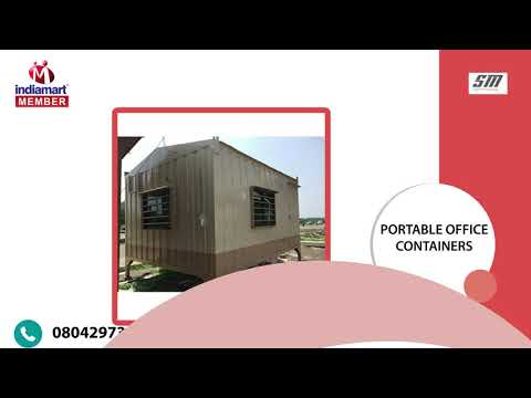 Portable Office Cabin & Prefabricated House Manufacturer