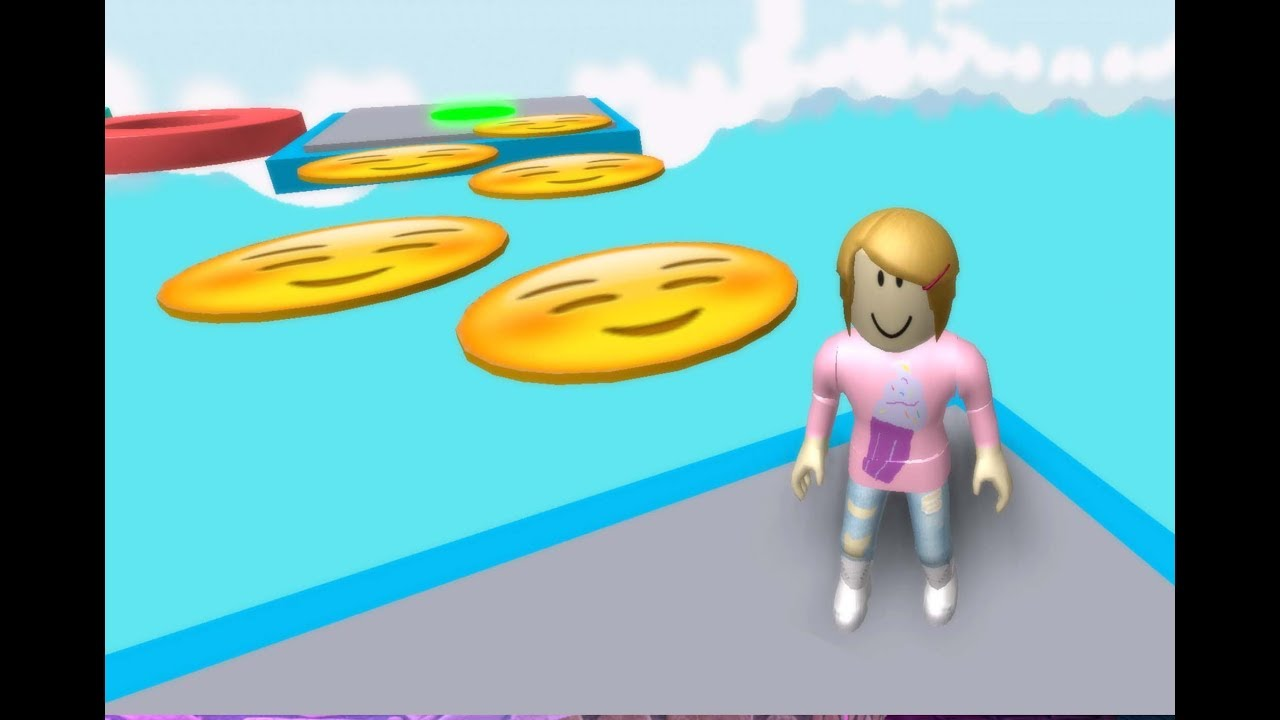 Roblox Escape The Emoji With Molly Youtube