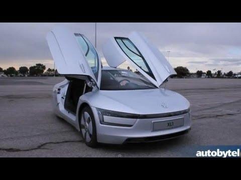 Most-Fuel Efficient Car in the World - 2014 Volkswagen XL1 Walkaround Video Review @ LA Auto Show