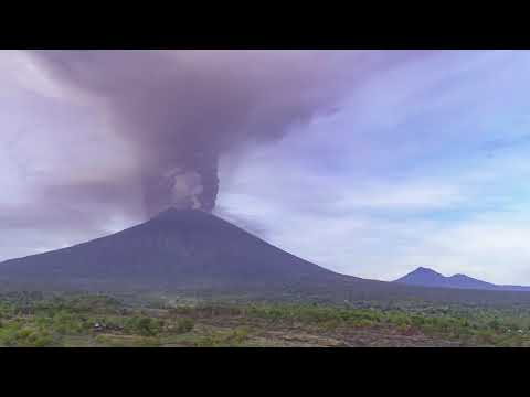 Adam Fish on BBC on Mt Agung and Drone research