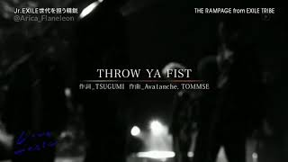 [Rom & Eng Sub] THE RAMPAGE from EXILE TRIBE - THROW YA FIST (Full Live)