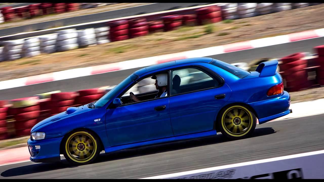 Subaru Impreza Gc8 Track Day Youtube