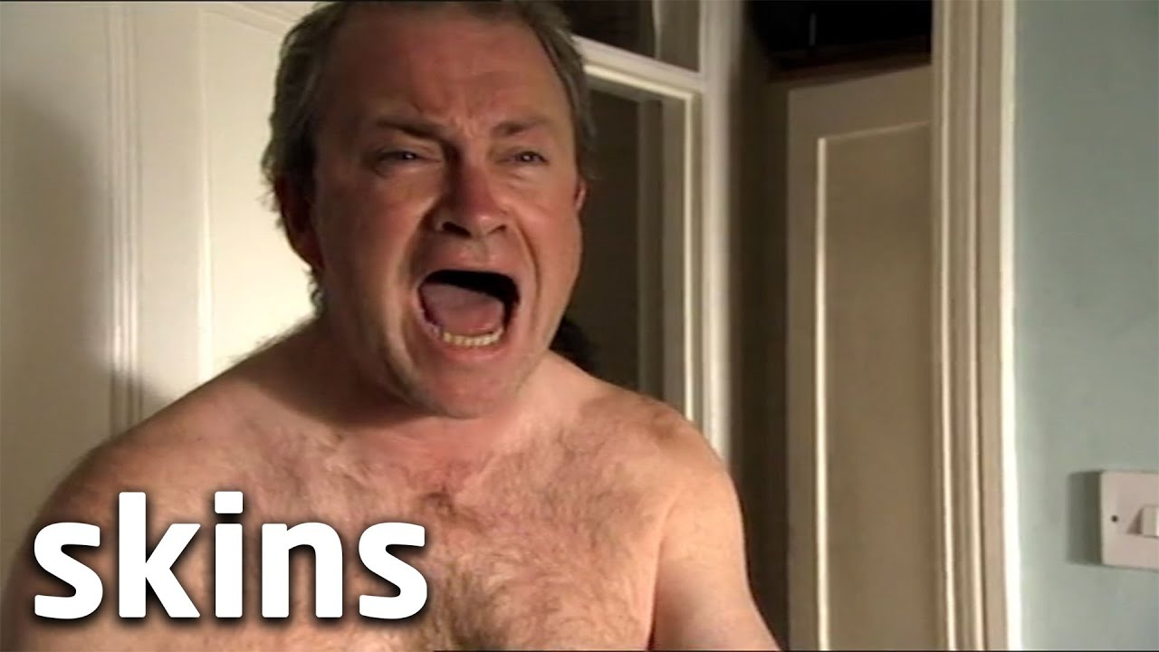 Tony Locks His Dad Out Of The Bathroom | Skins