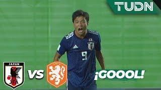 Wakatsuki amplía la ventaja | Japón 2 - 0 Holanda | Mundial Sub 17   J 1 | TUDN