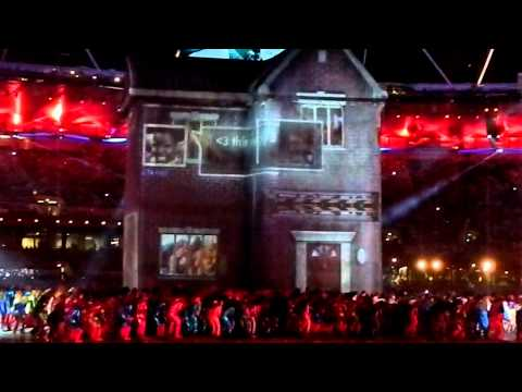 London 2012 Olympic Games Opening Ceremony - a bit of British Music, a legacy to the World.
