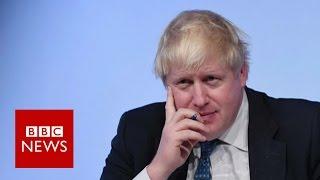 Boris Johnson says Saudi Arabia is playing proxy wars   BBC News